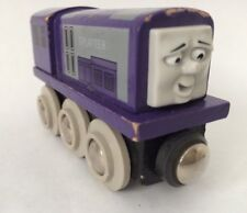 BRIO SPLATTER Thomas The Tank Engine Wooden Train Magnetic Coupling Purple