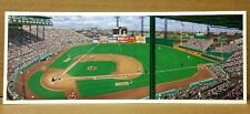 "Bill Goff Advertising Card of ""Braves Field Panorama"" by Jurinko - Ex Cond"
