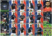Panini Adrenalyn XL Euro 2020 FRANCE full 18 card team set
