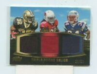 2011 Topps Prime Triple Jersey #D /50 Mark Ingram/Ryan Williams/Shane Vereen