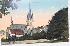 27450 AK Neustadt Sachsen Stadtkirche coloriert 1912
