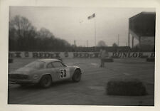 PHOTO ANCIENNE - VINTAGE SNAPSHOT - VOITURE AUTOMOBILE ALPINE COURSE - CAR RACE