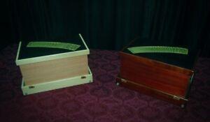 Mahogany Magic Brief Case Table