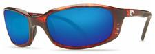 Costa Del Mar Brine 400G Polarized Sunglasses - Tortoise/Blue Mirror 400G Glass