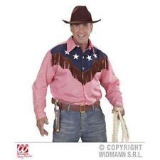 Costumi e travestimenti rosso Widmann per carnevale e teatro, con soggetto un Cowboy e Far West