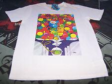 Adventure Time Mens Finn & Jake Gumball White Printed T Shirt Size XL New