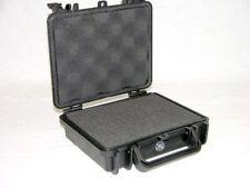 Black Armourcase 1060 Protective Plastic case with prescored foam + nameplate
