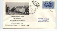 1956 BOSTON Cancel Palmer Memorial Church Houston USA