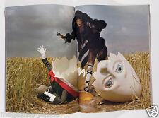 Karlie Kloss W magazine TIM WALKER photo used for Story Teller book & exhibition