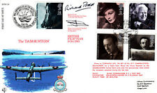 R FDC 38 Full set  British Film Year Stamps Flown & Double Signed R Todd Actor
