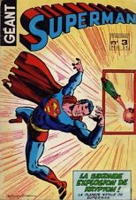 Comics Français  SAGEDITION  Superman Géant N°3