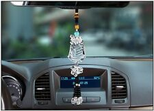 Crystal Car Rearview Mirror Hanging Ornament Car Interior Decor Accessories Sail