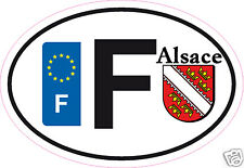 Autocollant sticker de département 68 Alsace