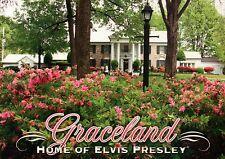 Graceland, Home of Elvis Presley, Memphis, Tennessee, Garden & Trees - Postcard