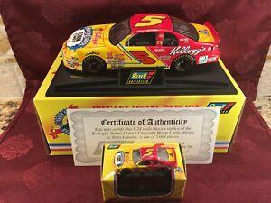 TERRY LABONTE #5 Kellogg's Honey Crunch 1996 1/24 Car HO & 1/64 HO Diecast Set