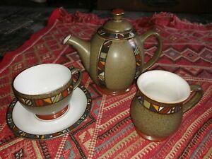 Denby tea or coffee set