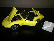 Franklin Mint 1975 Chevrolet Corvette 1:24 Diecast Car Stingray L88