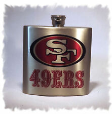 San Francisco 49ers 7 ounce Stainless Steel Flask