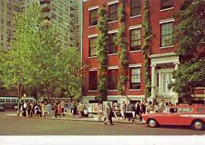 the Bohemian atmosphere of Greenwich Village, New York City 1959 Rambler wagon