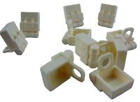 Lego 10 Stück Rucksack weiss für Minifiguren weiße Rucksäcke Tasche Neu 2524