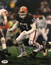 Clay Matthews Signed Autographed Cleveland Browns 8x10 Photo HOF Psa/Dna