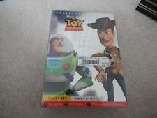 DISNEY PIXAR TOY STORY 1 2 DVD TOY BOX COLLECTOR'S EDITION NEW LOADED BONUSES