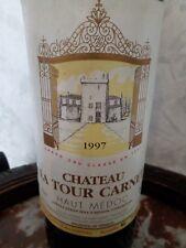 Chateau LA TOUR CARNET, 1997, AOC Haut Medoc, N° b 33361E, Bordeaux G.C.Classé