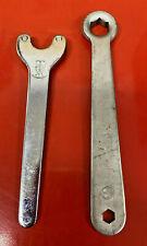 Vintage TA Specialites Bottom Bracket Pin Spanner Crank Wrench Tool Set