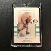 SHANE BATTIER 2001 FLEER FOCUS #M-SB MATERIALISTIC CLOTH INSERT ROOKIE RC NBA