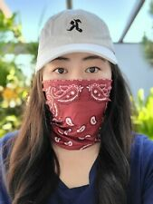 Paisley Neck Gaiter Face Mask Adult Multi-functional Face Covering, Head wear
