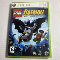 LEGO Batman: The Videogame (Microsoft Xbox 360, 2008) Complete Video Game F/S