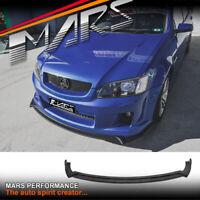 Front Bumper Lip Spoiler for Holden Commodore VE Series 1 SS SS-V SV6 BodyKit