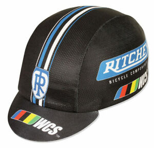 Pace Sportswear Ritchey WCS Hex Tex Cap Black/Blue