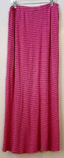Women's size large pink cotton skirt by Sundry from Anthropologie NWOT