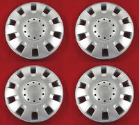 "4 piezas Tapacubos Tapacubos Grand Pulgadas 15"" Aspecto De Aluminio"