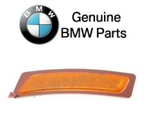 For BMW F10 5-Series 528i Front Passenger Reflector Bumper Cover Yellow Genuine
