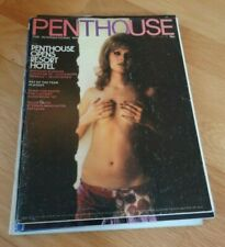 Mixed lot of 6 Different Vintage Men's Glamour magazines : 1972 Penthouse etc.