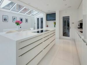 Magnet Tatton Alpine Fusion Luna complete Kitchen Unit £1799 fitting all London