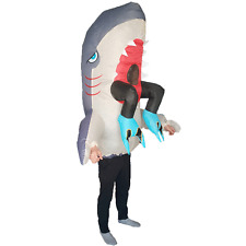 Inflatable Shark Costume for Adults Halloween Carnival Party Cosplay Fancy Dress