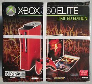 RITIRO IN NEG.€549, Microsoft XBOX 360 Elite ROSSA Resident Evil NUOVA sigillata
