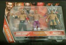 Sami Zayn Neville & TYLER Breeze 3 Pack WWE FIGURES pack Neuf scellé