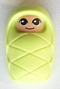 LEGO Friends VERY Bright Light Yellow Small Baby Minifigure From 41334 (Bagged)