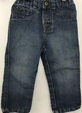 WRG Jeans Co Jeans Baby Boys Size 18 Months Blue Snap Fly