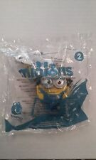 NEW 2015 McDonald's Minions #2 Talking Minion Bob Sealed MIP Toy FAST FREE SHIP