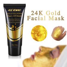 24K Gold Collagen Facial Mask Anti Aging Whitening Wrinkle Lifting firming