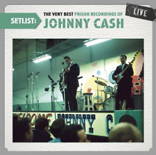 Johnny Cash - Setlist: The Very Best Prison Recordings of Johnny Cash CD SEALED