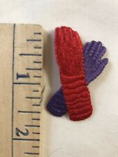 Bundle Of 92 Red Hat Lady Iron On Gloves Appliqués
