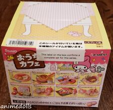Re-ment Miniatures Sanrio My Melody Ouchi Home Cafe Full set of 8 NEW MISB