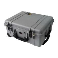 Pelican Silver and Black 1560 Case With Foam.