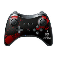 Wii U Controller Pro Skin - Keep Calm - Zombie - Decal Sticker